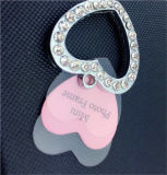 Paw 둥근 Dog Pet ID Tags Disc Dog Tag 또는 Cat Tag Engraved Custom Logo