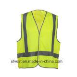 Veste elevada da segurança de Relective do Workwear da visibilidade com AS/NZS