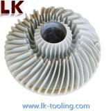 Liga de Alumínio Die Casting Peças com Preto Acabamento Anodizado