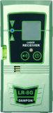 El laser del verde del nivelador del laser correspondió con con el receptor y la batería de la potencia