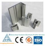 El aluminio del precio de fábrica sacó perfil para la puerta de aluminio