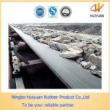 Banda transportadora de nylon reforzada materia textil