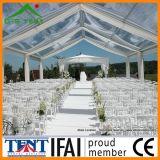 Écran transparent de chapiteau de meubles de PVC de tente extérieure de noce