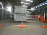 Heißer Verkaufs-Eisen-Zaun-bester Umkreis-Zaun/Kettenlink-Zaun hergestellt in der China-Kettenlink-Zaun-Fertigung
