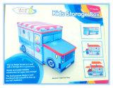Tamborete encantador do armazenamento da série da forma do carro dos miúdos para os brinquedos Gsa7008