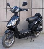 Bici eléctrica elegante con el pedal y el contador del LCD