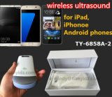 iPhone, iPad 및 지능적인 전화를 위한 휴대용 소형 무선 초음파 볼록한 스캐너