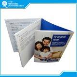Libretto su ordinazione di stampa della fabbrica della Cina con il formato differente