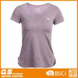 여자의 혼합 t-셔츠