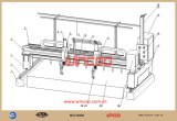 CNC Oxy-Kraftstoff Ausschnitt-Maschinen-Stahlherstellungs-Maschinen-Stahlherstellungs-Zeile