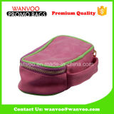 Pink PU Leather Custom Cosmetic Travel Tote Bag Set