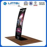 Stand promotionnel moderne d'étage de tissu de stand de littérature (LT-24A4)