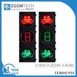 300mm 12 인치 LED 빨간 녹색 자전거 및 카운트다운 첫번째 신호등