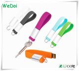 Vara relativa à promoção Keychain do USB do silicone com preço do competidor (WY-S14)