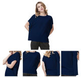 Le donne hanno lavorato a maglia il breve maglione Ew16A-005m del cachemire