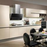 Modulare MDF-Vorstand-Melamin-Entwurfs-Flachgehäuse-Küche-Schränke