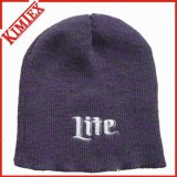 Chapeau de tricotage Heathered de Beanie de promotion de l'hiver