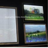 Snap Frame LED Boite de lumière en aluminium pour panneau publicitaire