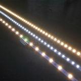 los 60LEDs/M 12V, luz de tira rígida de aluminio de 24V LED con la calidad SMD5050 18-22lm, Ce, RoHS