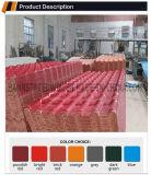 La toiture ondulée de plastique anti-calorique couvre des types de tuile de toiture de panneau de mur
