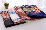 方法花によって印刷される女性のビスコース絹のスカーフ(YKY1150)