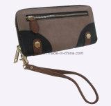 손잡이, 새로운 디자인, Wallet 형식 숙녀를 가진 PU 여자 지갑