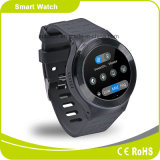 câmera Smartwatch da G/M WCDMA HD do cartão da frequência cardíaca SIM do ósmio WiFi Bluetooth do Android 5.1 do Quad-Núcleo 3G