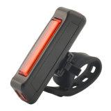 USB brilhante de IP67 120lm construído na luz da cauda da parte traseira da bicicleta da bateria 500mAh Rehcargeable