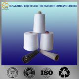 Ruwe Witte Kleur 100% het Garen van de Polyester voor het Naaien Gebruik