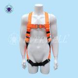 Plein harnais de corps, harnais de sûreté, ceinture de sécurité, ceinture de sécurité, sangle avec le mode fixe de cinq points (EW3020H)
