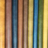 Couro resistente do PVC da tela do sofá de dois tons da abrasão (818#)