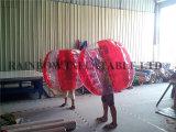 حارّ إنسانيّة كرة قدم فقاعات كرة, قابل للنفخ جسم مصد كرة