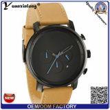 Pulso de disparo fêmea masculino unisex Relogio Masculino do relógio de pulso de nylon de couro famoso luxuoso de quartzo dos relógios das mulheres dos homens do estilo do tipo Yxl-933