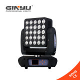 Lumière principale mobile de matrice chaude neuve de la vente 25X15W RGBW DEL pour l'éclairage de disco