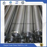Tubo flessibile Braided del metallo flessibile Ss304 o Ss316