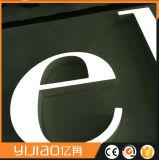 분명히되는 정면과 뒤 편지 광고