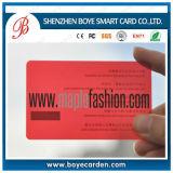 4 het Plastic Adreskaartje van de Kleurendruk met de Goedkoopste Prijs van de Fabriek