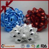 Arqueamiento plástico de la estrella de la cinta del nuevo diseño más vendido para la decoración de la manera