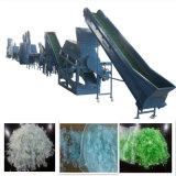 Animale domestico di plastica residuo che schiaccia lavaggio riciclando la linea di produzione