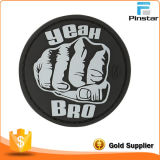 Chine Chapeau de haute qualité Accessoires Custom Made Soft Rubber PVC Magic Tape Patch