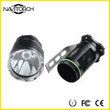 860 lampe-torche en aluminium rechargeable imperméable à l'eau de Xm-L T6 DEL de lumens (NK-655)