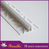 Guarnição plástica do PVC da telha cerâmica do perfil