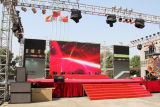 Pantalla de visualización video al aire libre del alto brillo P12 LED para hacer publicidad