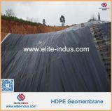 Мембрана Geomembrana зеленого черного составного HDPE Textured ровная