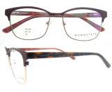 Vente en gros OEM ODM Italy Design Eyeglasses avec Clear Lens Metal Eyeglasses