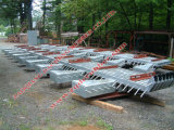 Junta de dilatación de acero ferroviaria a Italia (hecha en China)