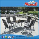 ヨーロッパ式の庭の屋外の家具のFoldable食事の椅子