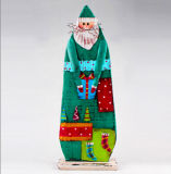 Maison neuve de plaque de mur de fer de Noël de type décorative