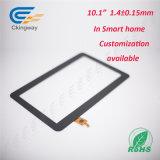 Anti-Smudge (AS) оптически обработки верхний слой стекла касания 10.1 дюймов взаимодействующий