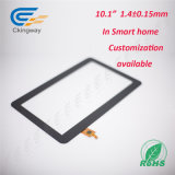 Anti-Smudge (AS)光学処置10.1インチの対話型の接触ガラスオーバーレイ